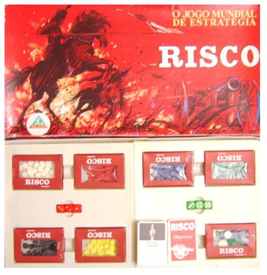Jogo Risco - Majora